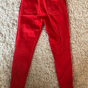J Brand Jeans - J brand red skinny jeans